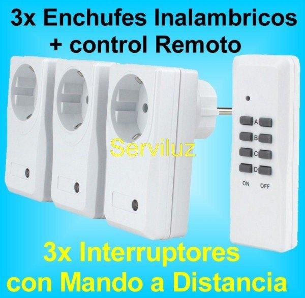Serviluz iluminaci n electricidad y electr nica - Luz con mando a distancia ...