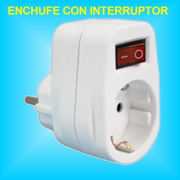 Base 1 toma enchufe con interruptor incorporado de 16a 250v - Precio de enchufes ...