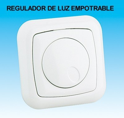 Regulador de Luz Empotrable Regulador de Intensidad Luz