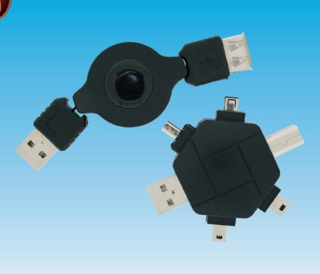 Set Cable Adapador USB, USB IEEE para Mp3 Mp4.