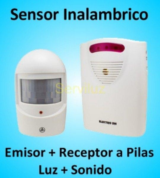 Detector de movimiento o presencia pir por sensor infrarrojos - Sensor de luz precio ...