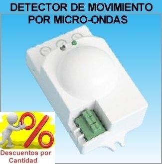 Detector de Movimiento con Sensor Radar