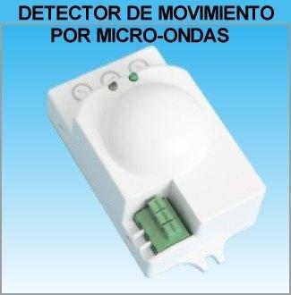 Detector de movimiento presencia radar por microondas - Detector de luz ...