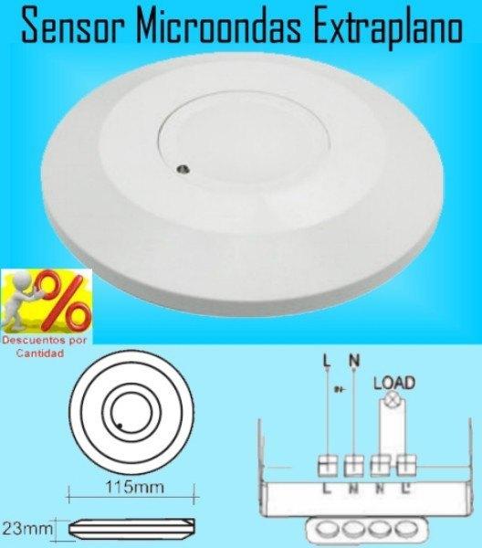 Focos luces con sensores de movimiento o presencia por - Detector de luz ...