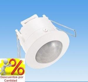 Detector de movimiento para luz sensor empotrable techo - Detector de movimiento para luces ...