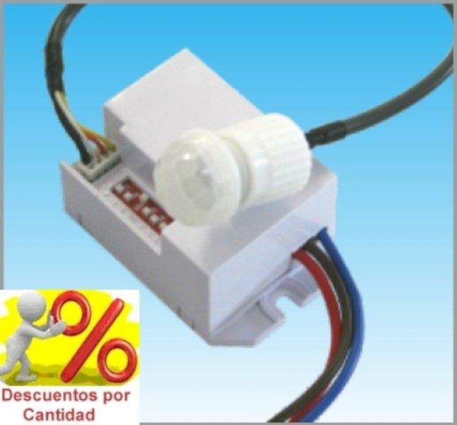 Mini sensor detector de movimiento de empotrar mini sensor de movimiento pir de empotrar - Sensores de movimiento para iluminacion ...