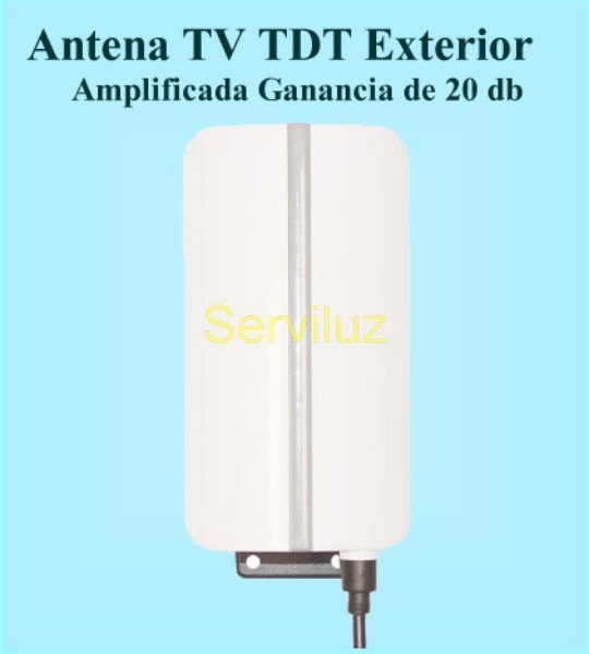 Nuevos productos serviluz iluminaci n electricidad y - Antena de television precio ...