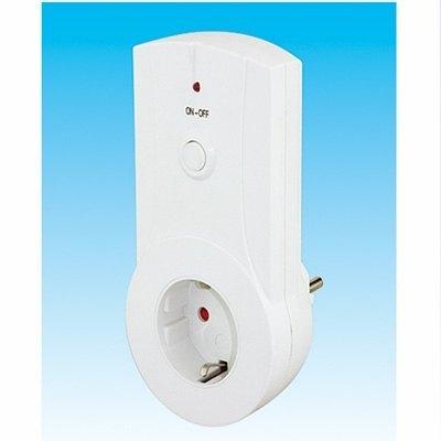 Enchufe inalambrico receptor para mando remoto dh - Enchufes mando a distancia ...