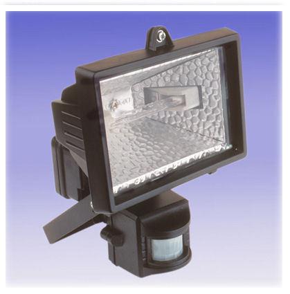 Foco detector halogeno 500w sensor de movimiento - Foco con sensor de movimiento ...