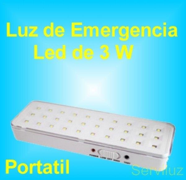 Focos lamparas luz led sensor de movimiento presencia - Luz de emergencia precio ...