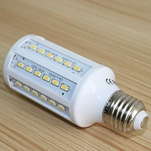 Bombilla LED E27 15W 60 LED 5630 SMD Blanco (color 6000K)