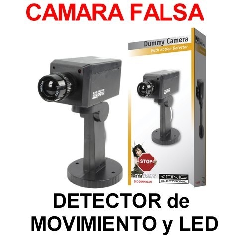 Detector de movimiento inal mbrico emisor receptor - Camaras de seguridad falsas ...