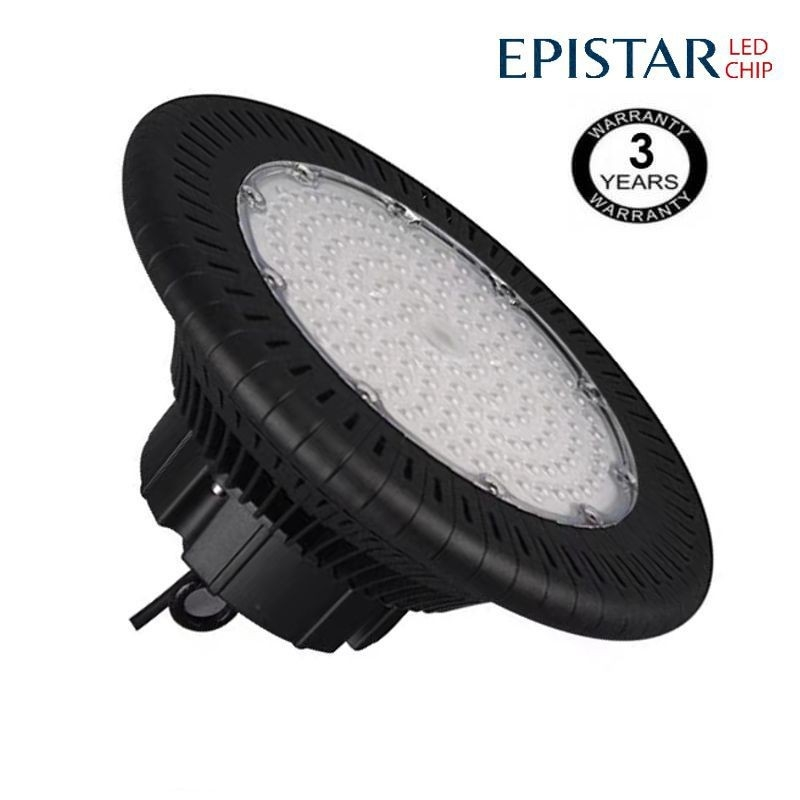Campana industrial LED UFO 200W Epistar 3030-3D 125lm/w IP65 6000K