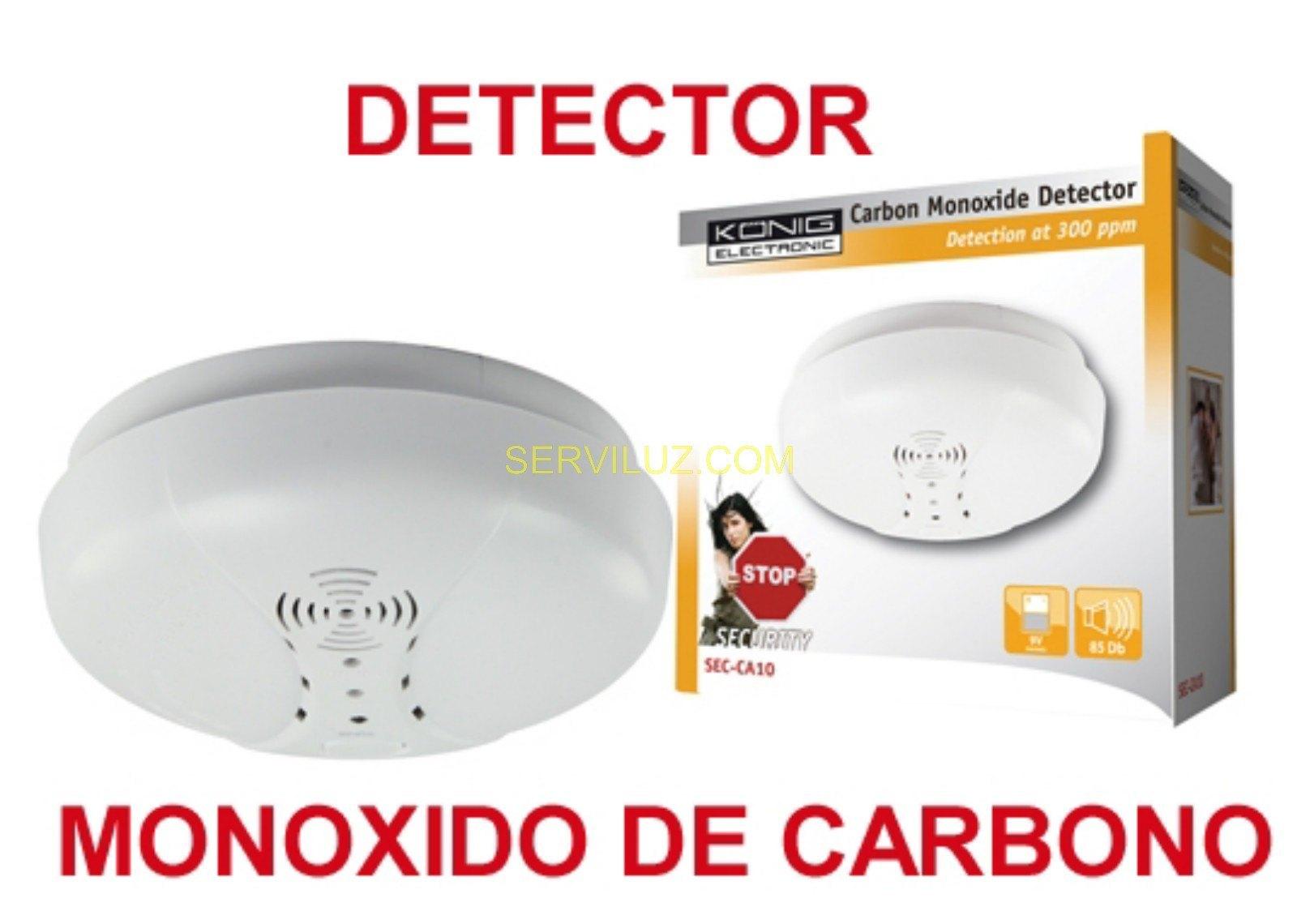 Detector de monoxido de carbono k nig a bateria sec ca10 - Detectores de monoxido de carbono ...