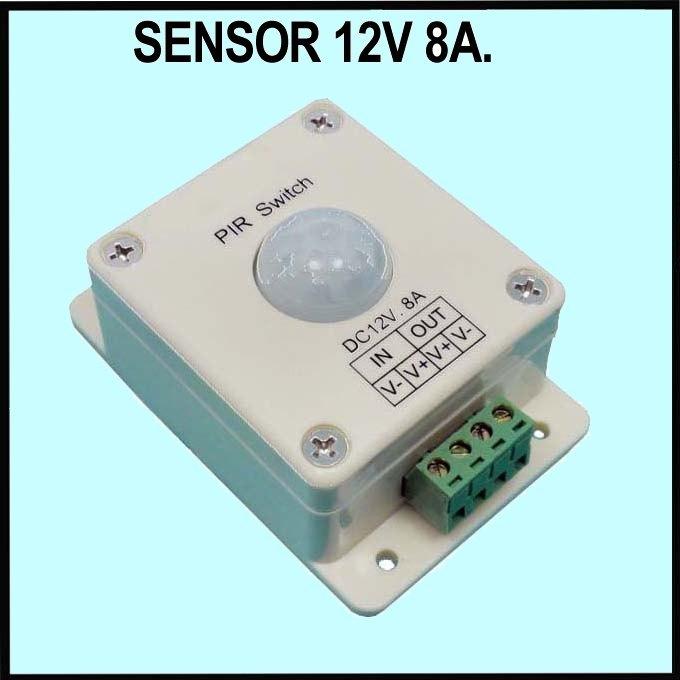 Detector de movimiento o presencia pir por sensor infrarrojos for Sensor de presencia