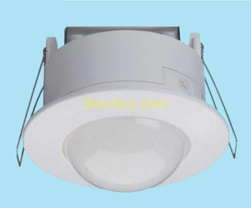 Detector de movimiento empotrable en techo sensor de 360 for Sensor de presencia