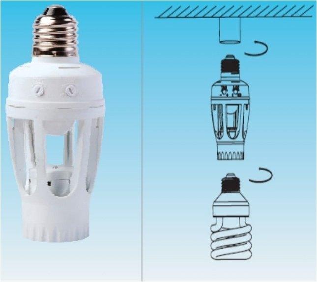 Focos luces con sensores de movimiento o presencia por - Detector de movimiento para luces ...