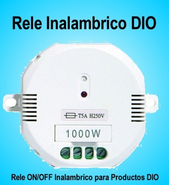 Rele Inalambrico ON-OFF por Radiofrecuencia 220v Dio31