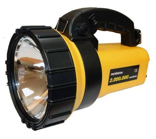 Linterna Halogena recargable con 24 Led