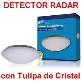 Lampara apliques sensor de movimiento o presencia por - Detector de movimiento para luces ...