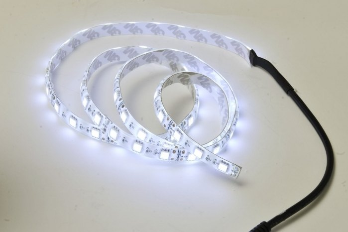 Tira de LED flexible Leds SMD 5630 15W m 1 metro Blanco frío